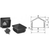 Пирамидни набивни тапи за квадратни профили